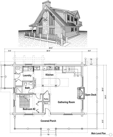Unique Ranch House Plans With Loft  New Home Plans Design