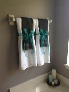 towel folding ideas for bathrooms gray and turquoise bathroom for the home