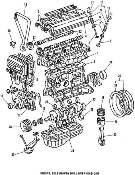 2008 Corolla Engine Diagram by Genuine Oem Engine Parts Parts For 1991 Toyota Mr2 Turbo