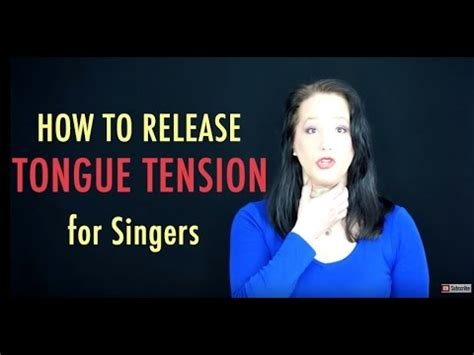 how to release tongue base tension tongue exercises for