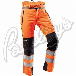 Pfanner Ventilation Hi-Vis Chainsaw Protection Pants (En