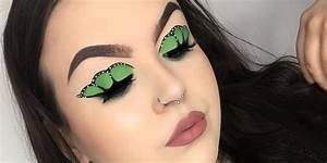 Butterfly Eye Makeup Will Give Your Winged Liner a