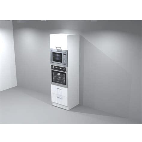 armoire cuisine pour four encastrable colonne four micro onde encastrable porte lift et casserolier