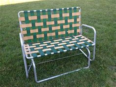 Webbed Lawn Chair Rocker by 1000 Images About Vintage Furniture On