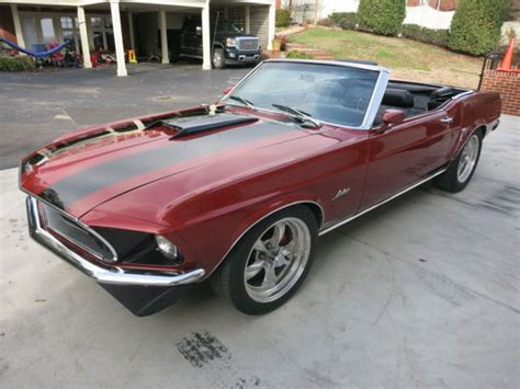 1969 Mustang Convertible Shelby Fe Block Tko600 Power