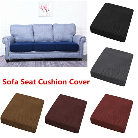 replacement settee covers replacement sofa stretchy seat cushion cover slip