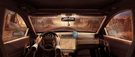 Game Scene - Car Interior - AlbertoFeliciano