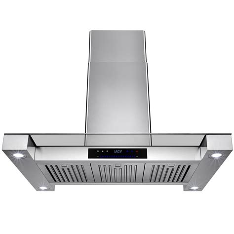 36 inch kitchen exhaust fan kitchenaid 42 in island canopy range hood in stainless