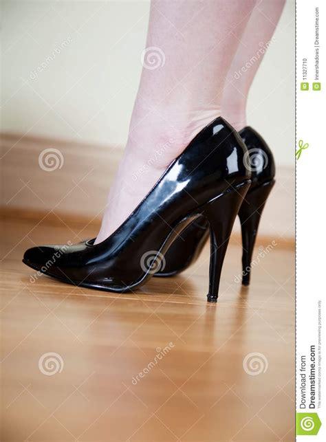 black stilettos stock photo image 11327710