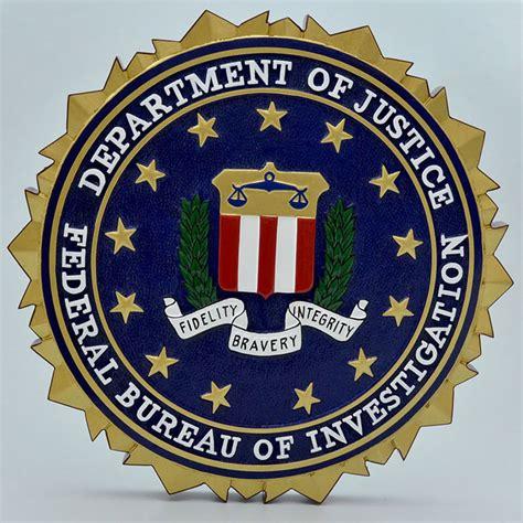federal bureau of investigation decorative wall plaques squadron models
