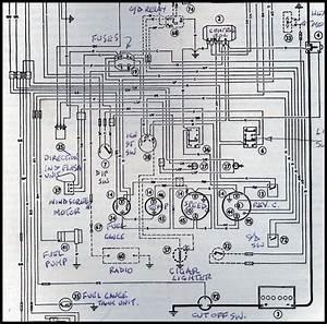 1966 Austin Healey 3000 Wiring