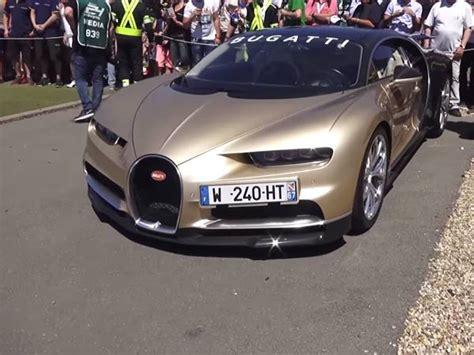Ceo Of Bugatti by Bugatti Ceo A Bentley On A Chiron Drivespark