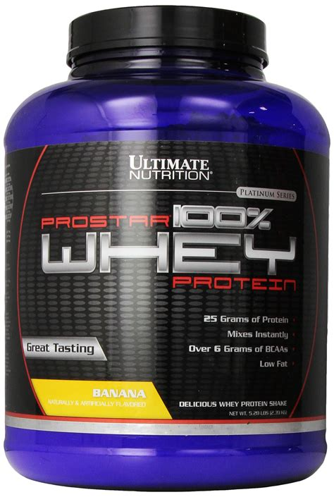Amazon.com: Ultimate Nutrition Pro Star Whey Strawberry 5