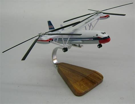 Mil Mi-12 Homer V-12 Helicopter Wood Model Replica Xxl