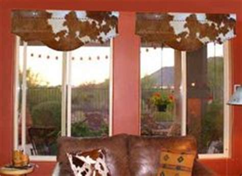 Cowhide Valance by Western Curtain Decor On Valances Westerns