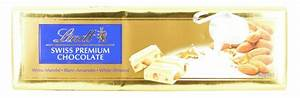 Lindt Swiss Premium White Chocolate with Almonds 300g ...