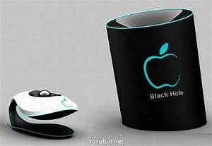 Apple Black Hole Mobile Phone Design - XciteFun.net