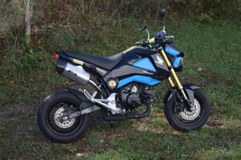 2014 Honda Grom For Sale Used Motorcycles On Buysellsearch