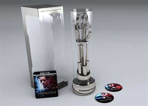Terminator 2 4k Blu-ray Arriving In Endoarm Box Set