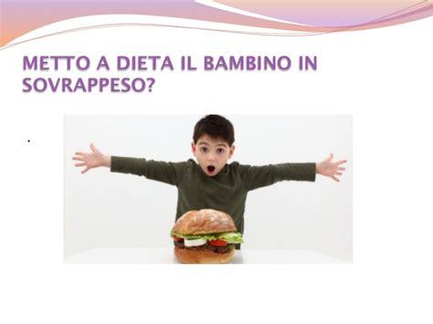 alimentazione e obesita infantile