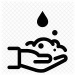 Wash Hands Icon Hand Washing Icons Disinfection