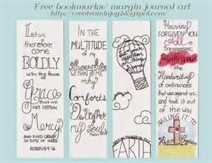 Bookmark Free Printable Bible Journaling
