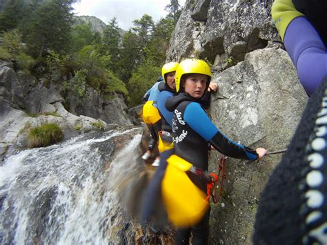 bureau des guides chamonix canyoning in chamonix valley high mountain guide bureau