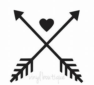 Cross Arrows Heart Cute Love Decal Sticker eBay