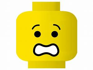 Lego Smiley Scared Clip Art at Clker.com - vector clip art ...