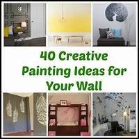 creative painting ideas 40 Creative Painting Ideas for Your Wall