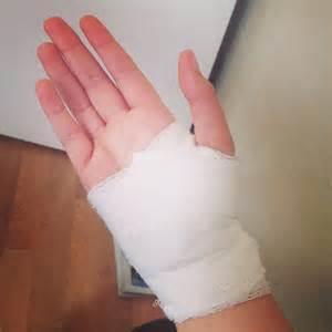 Bandage Cut Hand