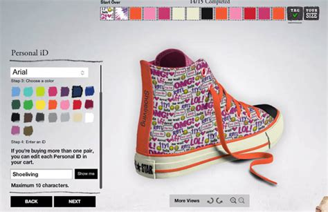 design your own shoe design your own converse all design customize and
