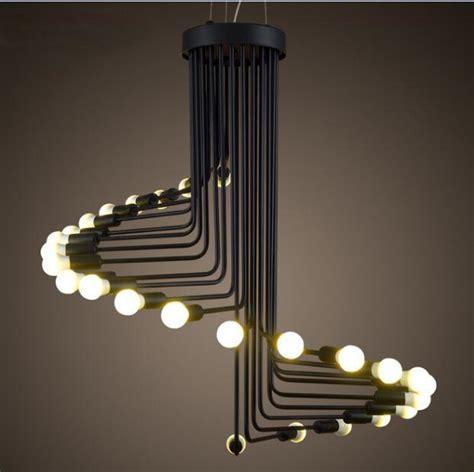 Led Lamp Buy Online by 2017 Modern Vintage Loft Pendant Light Iron Spiral
