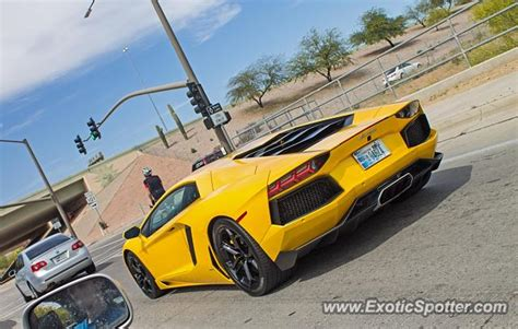 Lamborghini Aventador Spotted In Scottsdale, Arizona On 03