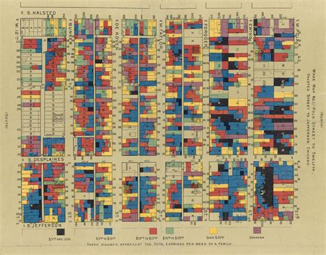 The use of color in maps