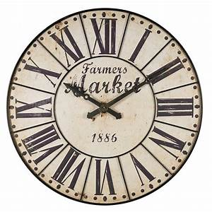 Horloge Murale Maison Du Monde : farmers market horloge murale maisons du monde decofinder ~ Teatrodelosmanantiales.com Idées de Décoration