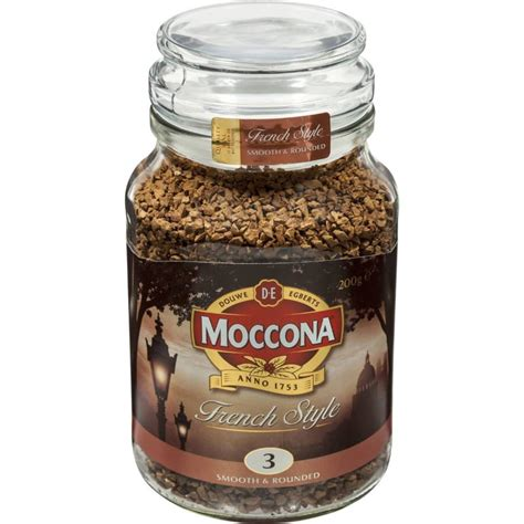 There are even instant coffee brands that have designed products specifically designed to be dissolved in cold water, like cusa coffee. Moccona Freeze Dried Instant Coffee French Style 200g - The Australian Food Shop