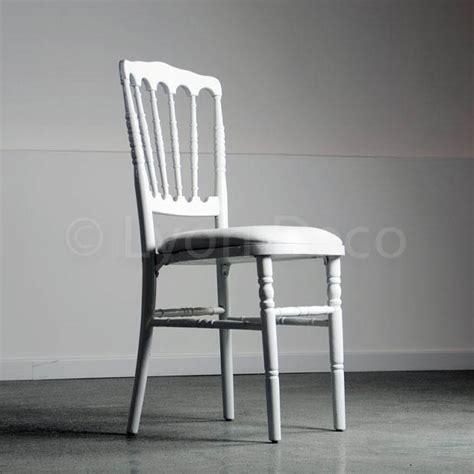 Location Chaise Napoleon 3 Blanche Idéale Pour Gala Ou