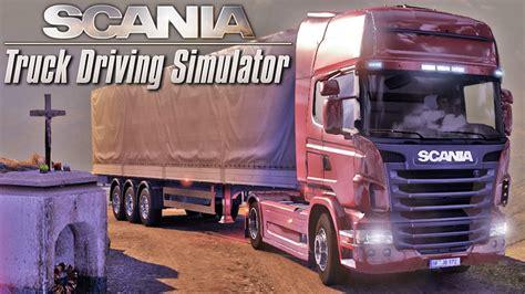 scania truck driving simulator scania truck driving simulator gameplay