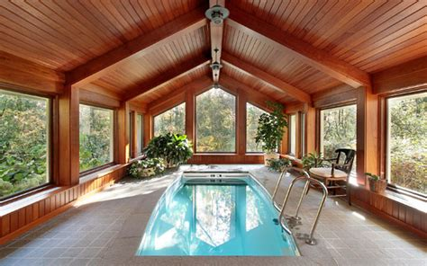 Indoor Swimming Pools-house Plans And More
