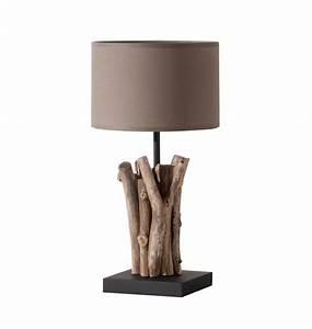 Lampe Mit Holzfuß : tischlampen mit holzfuss ~ Eleganceandgraceweddings.com Haus und Dekorationen