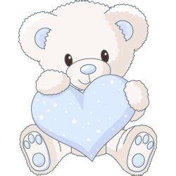 stickers ourson chambre bébé sticker ourson coeur bleu stickers bébé enfant