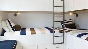 Lit Superposé Maison Du Monde : simple ides de chambre avec des lits superposs with lit cabane maison du monde ~ Melissatoandfro.com Idées de Décoration