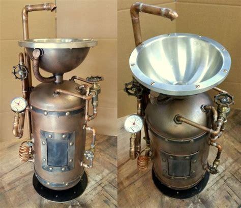 Excellent Steampunk Kitchen Appliances Coffee Machine