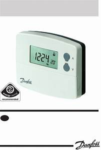 Danfoss Tp5000si Programmable Room Thermostat Wiring