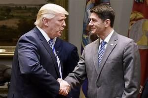 Trump Blows a $10 Billion Kiss to Paul Ryan   Vanity Fair