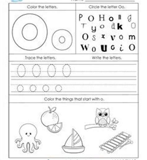 letter o worksheets alphabet worksheets letter worksheets for kindergarten 33961