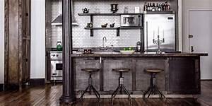 Cuisine Deco Industrielle : 8 bonnes raisons d 39 adopter la cuisine industrielle marie claire ~ Carolinahurricanesstore.com Idées de Décoration