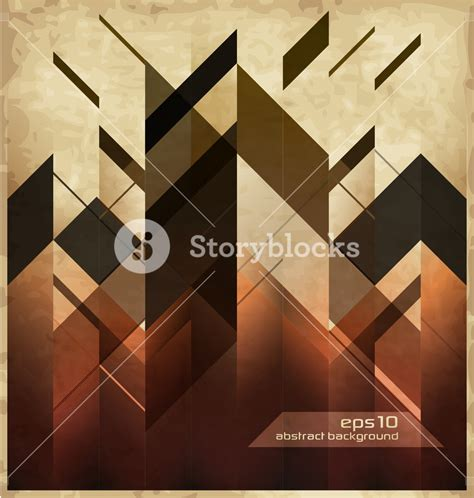 Abstract Modern Shapes by Abstract Modern Background With Geometric Shapes Royalty