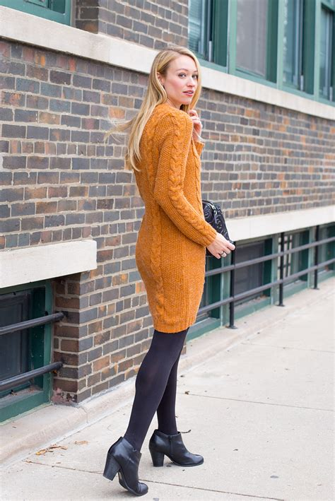 Camel Dress 3 Ways to Style a Sweater Dress - Style by Joules